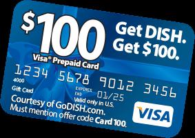 Get A FREE $100 Visa® Prepaid Card