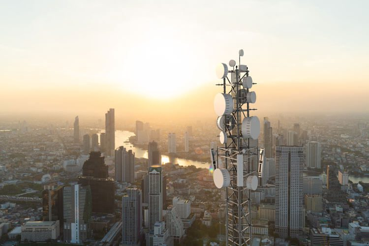 DISH Wireless 5G towers.