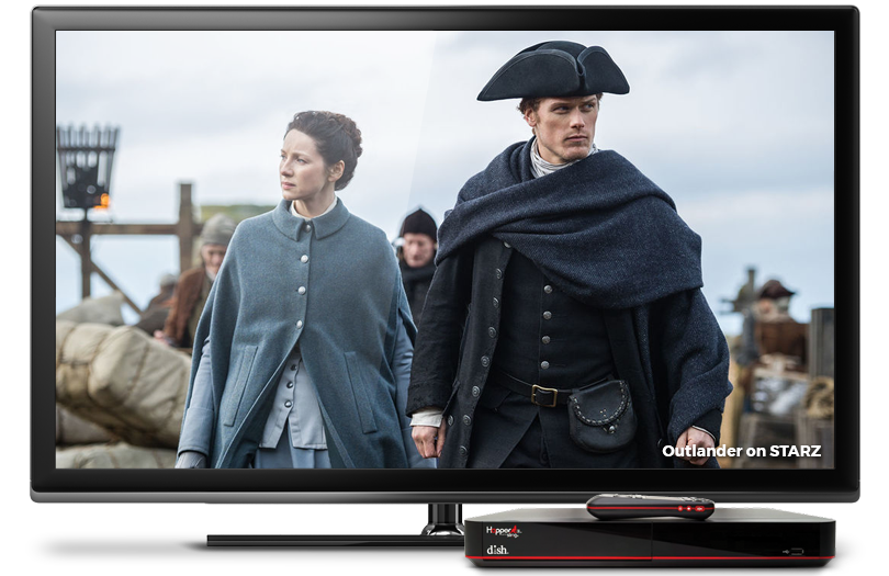 Outlander on STARZ with the Americas Top 250 Package